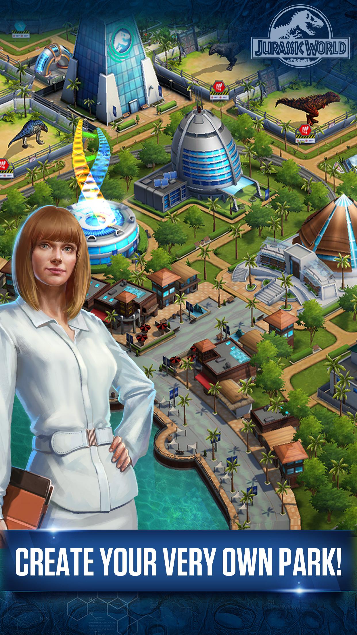 jurassic games ludia android screenshots play apk storage jurassicworld simulation