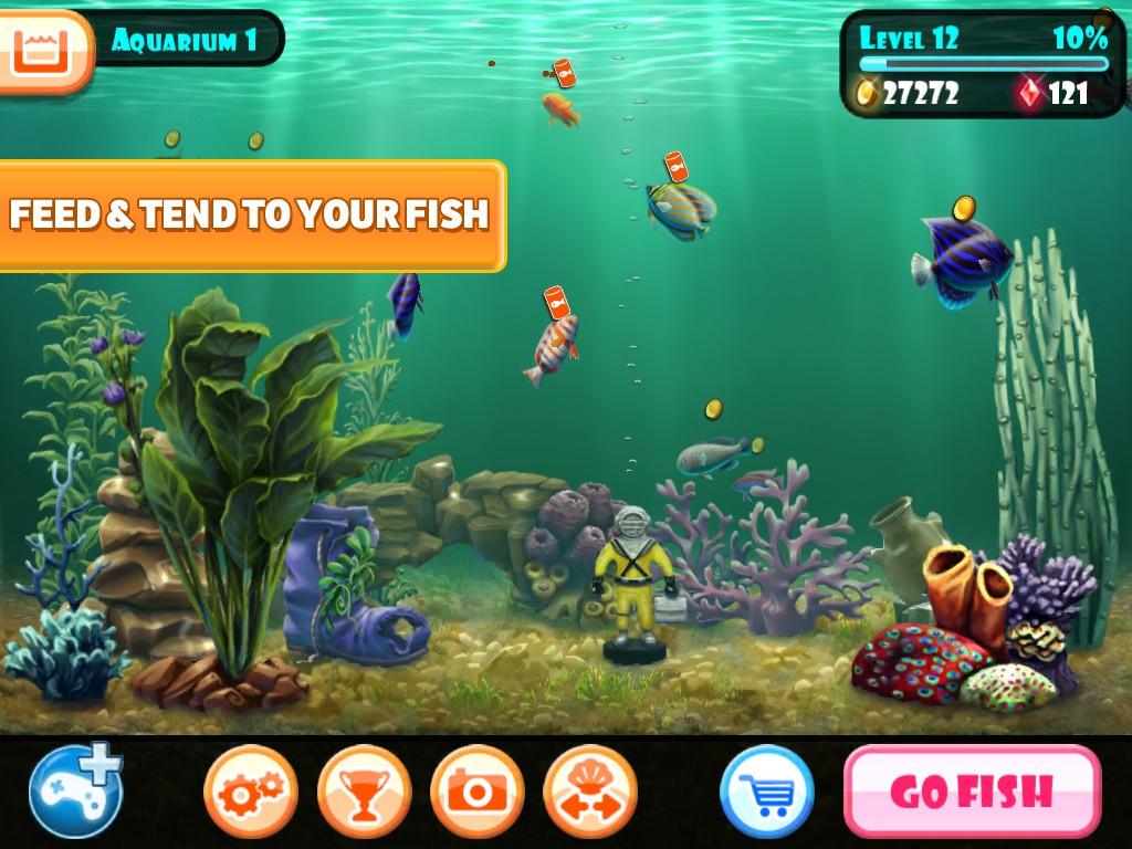 Fish for aquarium games - Ludia